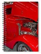 One Hot Rod Spiral Notebook