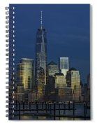 One World Trade Center At Twilight Spiral Notebook