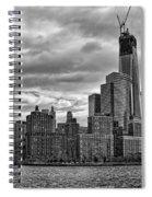 One World Trade Center Bw Spiral Notebook