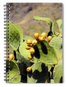 Opuntia Ficus-indica Spiral Notebook