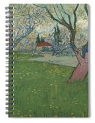 Orchards In Blossom Spiral Notebook
