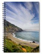 Oregon Coastline Spiral Notebook