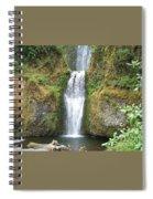Oregon Waterfall Spiral Notebook