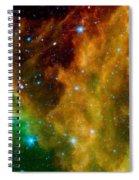 Orion-nebula Spiral Notebook