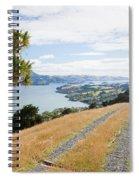 Otago Peninsula Coastal Landscape Dunedin Nz Spiral Notebook