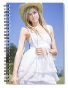 Outback Country Girl Spiral Notebook