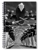 Over The Marine Corps Silent Drill Platoon Spiral Notebook