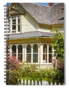 Oysterville House 6 Spiral Notebook