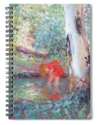 Paddling In The Creek Spiral Notebook