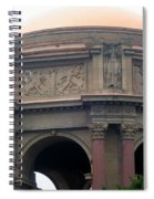 Palace Of Fine Arts 7 Spiral Notebook
