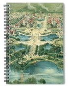 Pan-american Exposition Spiral Notebook