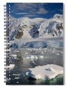 Paradise Bay, Antarctica Spiral Notebook