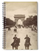 Paris Champs-�lys�es, C1900 Spiral Notebook