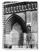Paris Notre Dame, 1918 Spiral Notebook