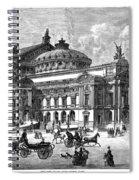 Paris Opera House, 1875 Spiral Notebook