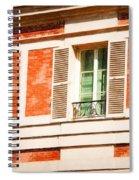 Paris Windows Spiral Notebook