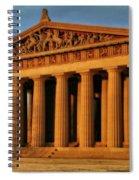 Parthenon Spiral Notebook