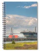 Patriots Point  Spiral Notebook