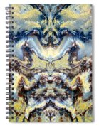 Patterns In Stone - 84 Spiral Notebook