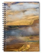 Patterns Of The Land Spiral Notebook
