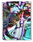 Paua Shell Spiral Notebook