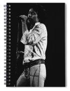 Paul Singing In Spokane 1977 Spiral Notebook