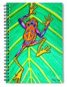 Peace Frog Spiral Notebook