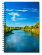 Peaceful Payette River Spiral Notebook