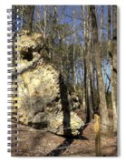 Peach Tree Rock-5 Spiral Notebook