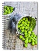 Peas Spiral Notebook
