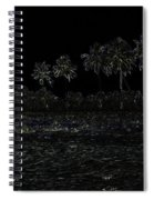 Pencil - Water Rippling In The Coastal Lagoon Spiral Notebook