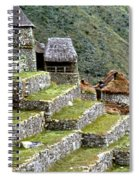 Peru: Machu Picchu Spiral Notebook