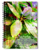 1 Peter 3 17 Spiral Notebook