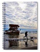 Peter Iredale Shipwreck, Fort Stevens Spiral Notebook