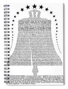 Philadelphia: Liberty Bell Spiral Notebook