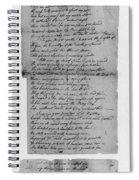 Phillis Wheatley (1753?-1784) Spiral Notebook