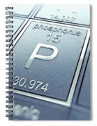 Phosphorus Chemical Element Spiral Notebook