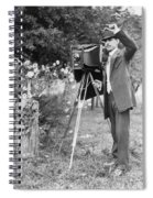 Photographer, C1911 Spiral Notebook