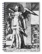 Physician As Angel Spiral Notebook