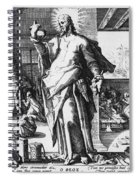 Physician As God Spiral Notebook