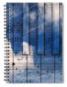Piano Spiral Notebook