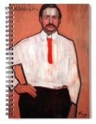 Picasso's Pedro Manach Spiral Notebook