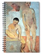 Picasso's Two Youths Spiral Notebook