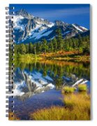 Picture Lake Spiral Notebook