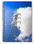 Pillar Of Power Spiral Notebook