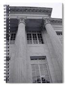 Pillars And Windows Spiral Notebook