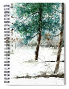 Pine Woods Spiral Notebook