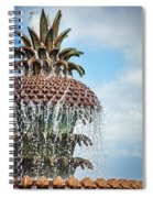 Pineapple Fountain Spiral Notebook