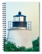 Piney Point Maryland Lighthouse Spiral Notebook