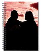 Pink Love Spiral Notebook